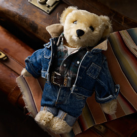 POLO RALPH LAUREN - POLO BEAR RRL RUGGED TEDDY