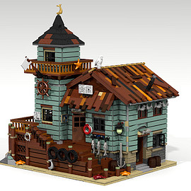 LEGO - Old Fishing Store