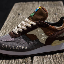 "SAUCONY - 24 Kilates x Saucony Shadow Original ""Mar y Montana"""