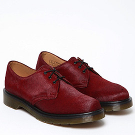 Dr.Martens - Hair On Horsey 3 Eye Derby Shoes