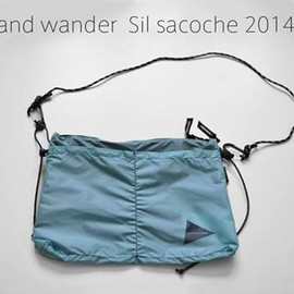 and wander - Sil sacoche