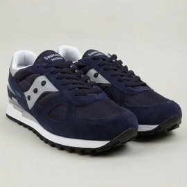 SAUCONY - Men's Navy Shadow Original Sneakers