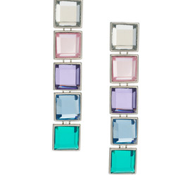 ASOS - Gem Rainbow Earrings