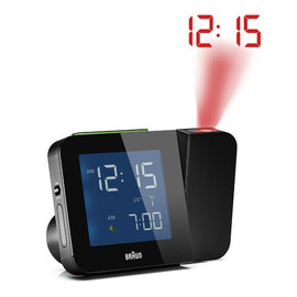 Braun - Digital Tilt Projection Alarm Clock (BN-C015-BK)