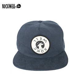 """ROCK WELL - ROCKWELL by Parra【ロックウェル バイ パラ】コーディロイ スナップバックキャップ """"his face"""""""