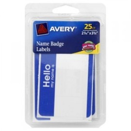AVERY - Hello My Name Is Sticker Pack