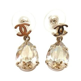 CHANEL - Vintage Chanel Drop Earrings