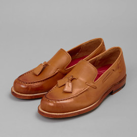 Grenson - Claire Leather Tassel Loafer
