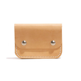 Billykirk - No. 262 Small Trucker Wallet, Natural