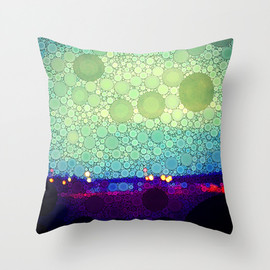 Society6 - Equilibrium Throw Pillow