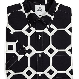 BLACK FLEECE BY Brooks Brothers - Octagon Short-Sleeve Button-Down Shirt