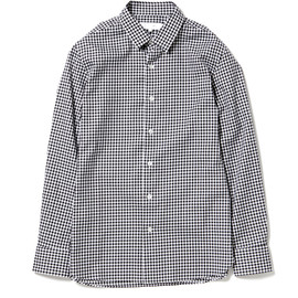 nonnative - DWELLER DRESS SHIRT - COTTON GINGHAM CHECK
