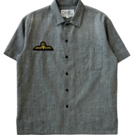 PEEL&LIFT - Flat Collar Shirt (grey)