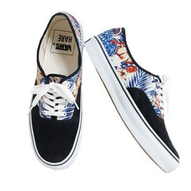 VANS - HARE × VANS AUTHENTIC HIBISCUS