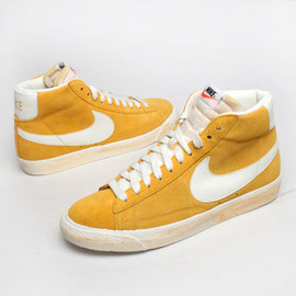 Nike - Nike Blazer Vintage yellow grey - Super*Fly Deluxe