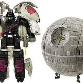 hasbro - Star Wars Transformers Darth Vader/Death Star