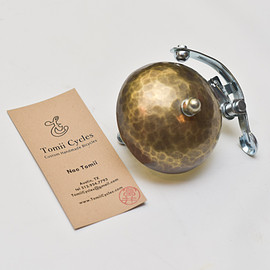 tomii cycles - Hammered Brass Bell