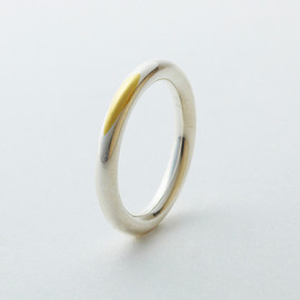 gallery deux poissons: wedding & engagement ring collection - gold wedding ring