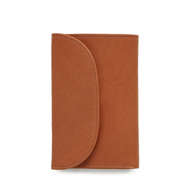 S7660 3FOLD WALLET/Natural Vintage Bridle