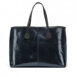 tusting - Image for Alice Leather Tote Bag - Large in Navy