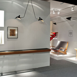 Jean Prouve, Charlotte Perriand, ... - Downtown Booth at the Armory Show, NY