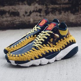 Nike - NIKE AIR FOOTSCAPE WOVEN CHUKKA YOTH LIGHT MIDNIGHT/BRIGHT CITRON