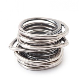 IOSSELLIANI - Classic 8Stacking Rings