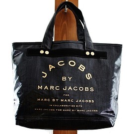 MARC BY MARC JACOBS - デニムエナメルトートバッグ