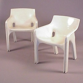 Artemide - Gaudi Chair Designed by Vico Magistretti