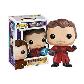 FUNKO - POP! - Marvel Series: Guardians Of The Galaxy - Star-Lord (Unmasked / Headphone Version)