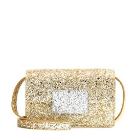 SAINT LAURENT - FW2014 Lulu Bunny Small glitter shoulder bag