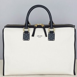 Celine - Black & White Top Handle Bag