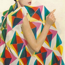 Paco Rabanne - Plastic Triangle Coat in 1966