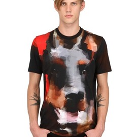GIVENCHY - DOBERMAN CUBAN FIT COTTON JERSEY T-SHIRT