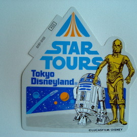 Disney - star tours sticker
