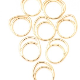 IOSSELLIANI - Classic8stacking Rings