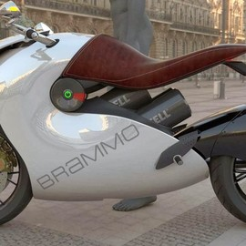Stephan Park design - Nautilus electric motorcycle