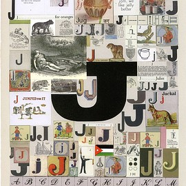 Sir Peter B lake - The letter J Silkscreen Print
