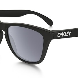 OAKLEY - FROGSKINS POLARIZED (ASIA FIT) Matte Black / Gray Polarized