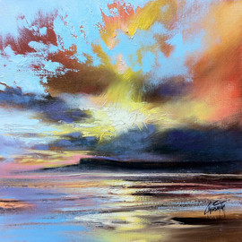Scott Naismith - Eigg Light Study