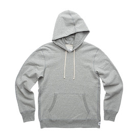 Reigning Champ - PULLOVER HOODIE - HEATHER GRE