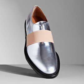 GIVENCHY - Women's Metallic Oxford Shoes