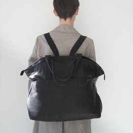 Assembly New York - Leather Bag/Backpack
