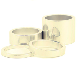 CHRIS KING - Headset Spacers (silver)