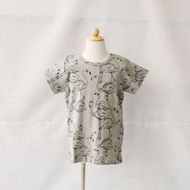 mini rodini - FLAMINGO S/S TEE