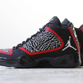 Nike - NIKE AIR JORDAN XX9 BLACK/WHITE-GYM RED