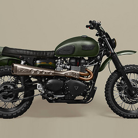 Triumph - TRIUMPH Scrambler by Ton Up Garage
