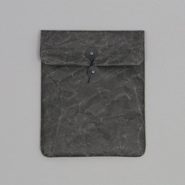 SIWA - iPad String & Button Case in Black