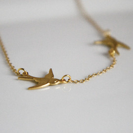 lilabelledesign - Swallow Necklace