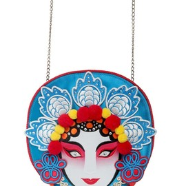 Charlotte Olympia - FW2014 CONCUBINE EMBROIDERED SILK SATIN CLUTCH